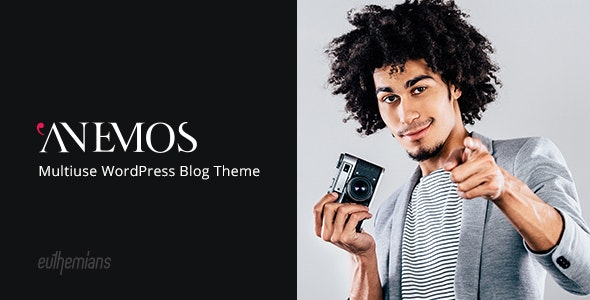 Download Anemos v2.1.2 - A Multiuse Blogging WordPress Theme
