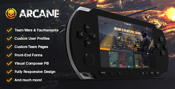 Download Arcane v2.6.5 - The Gaming Community Theme