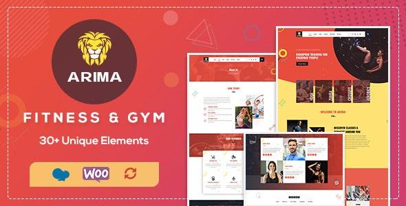 Download Arima v1.3 - Gym, Boxing WordPress Theme