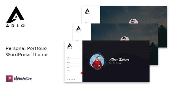 Download Arlo v1.9 - Portfolio WordPress Theme