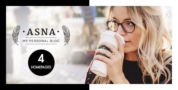 Download Asna v1.9 - Creative Blog Theme