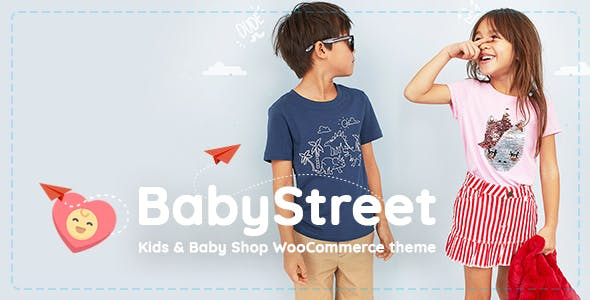 Download BabyStreet v1.2.9 - WooCommerce Theme for Kids Stores and Baby Shops Clothes and Toys