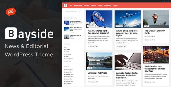 Download Bayside v2.1 - Responsive WordPress Theme