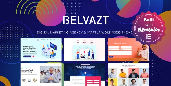 Download Belvazt v1.2.33 - Digital Marketing Agency WordPress Theme