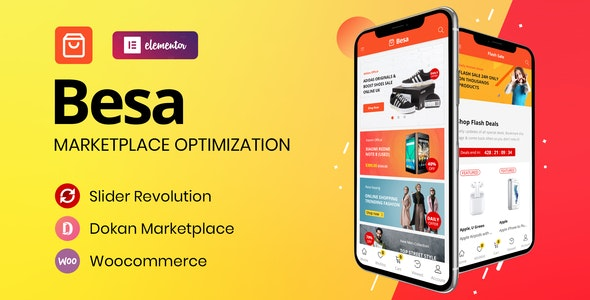 Download Besa v1.0.2 - Elementor Marketplace WooCommerce Theme