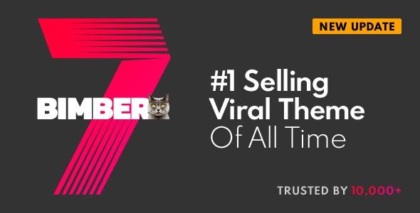 Download Bimber v7.8 - Viral Magazine WordPress Theme