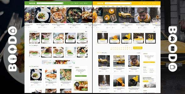 Download Boodo WP v2.2 - Food and Magazine Shop WordPress Theme