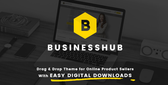 Download Business Hub v1.1.6 - Responsive Theme For Online Business