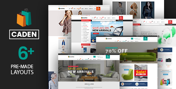 Download Caden v1.3.6 - Mega Store Responsive WordPress Theme