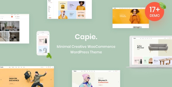 Download Capie v1.0.7 - Minimal Creative WooCommerce WordPress Theme