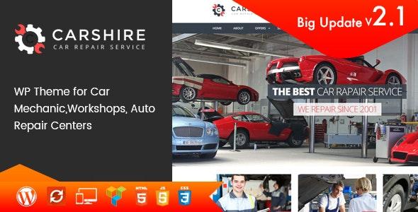 Download Car Shire v2.3 - Auto Mechanic & Repair WordPress Theme