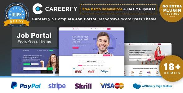 Download Careerfy v3.6.0 - Job Board WordPress Theme