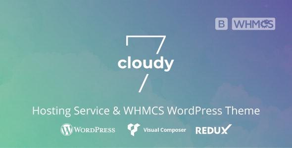 Download Cloudy 7 v1.0 - Hosting Service & WHMCS WordPress Theme
