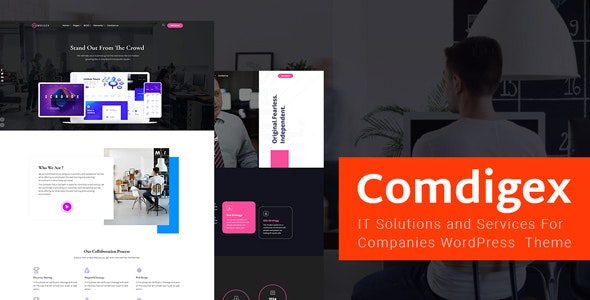 Download Comdigex v1.1 - IT Solutions and Services Company WP Theme