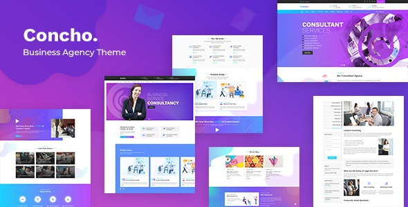 Download Concho v1.3 - HR, Consulting Services WordPress Theme