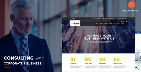 Download Consulting v2.9 - Corporate and Business WordPress Theme