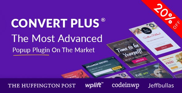 ConvertPlus v3.5.4 - Popup Plugin For WordPress