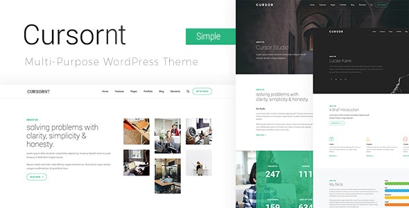Download Cursornt v2.1.8 - Startup Business Theme