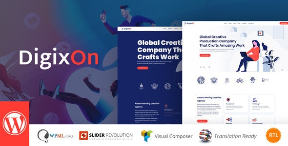 Download Digixon v1.5 - Digital Marketing Strategy Consulting WP Theme