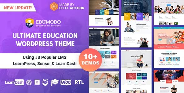 Download Edumodo v3.0.0 - Education WordPress Theme