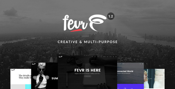 Download Fevr v1.2.9.9 - Creative MultiPurpose Theme