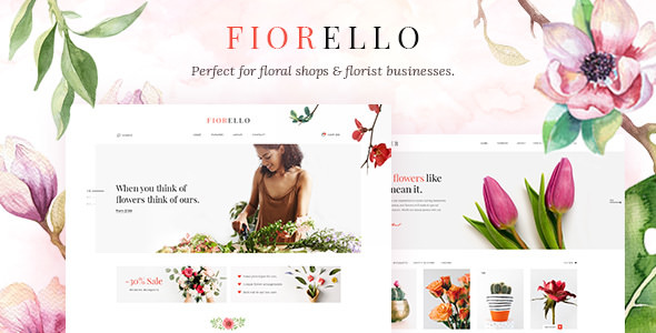 Download Fiorello v1.3 - A Flower Shop and Florist WooCommerce Theme