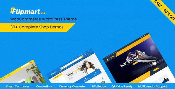 Download Flipmart v2.7 - Responsive Ecommerce WordPress