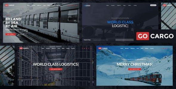 Download GoCargo v1.9.4 - Freight, Logistics & Transportation WordPress Theme