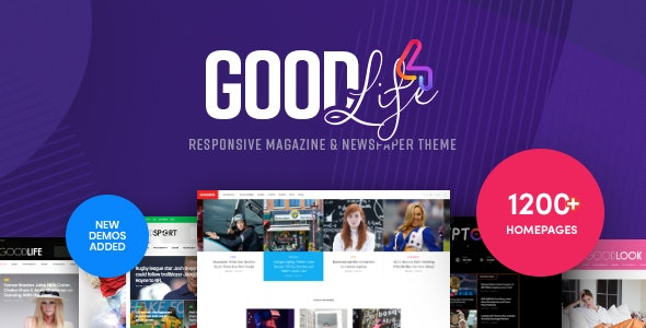 GoodLife v4.1.7.1 - Responsive Magazine Theme