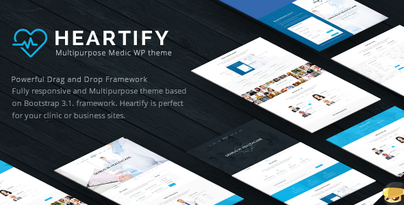 Download Heartify v1.2 - Medical Health and Clinic WordPress Theme