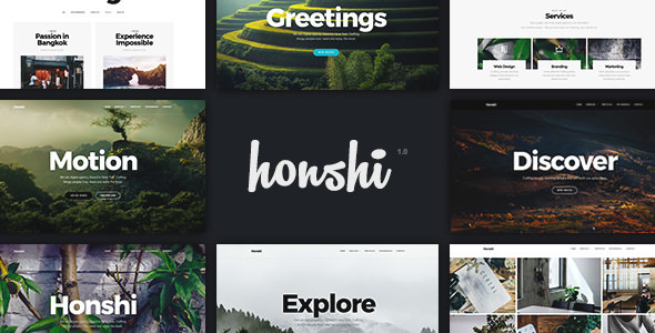 Download Honshi v2.4.0 - Creative Multi Purpose WordPress Theme