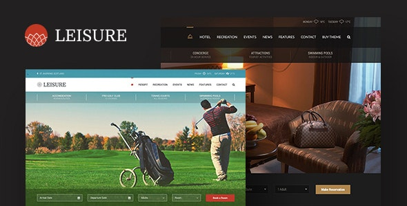 Download Hotel Leisure v2.1.14 - Hotel WordPress Theme