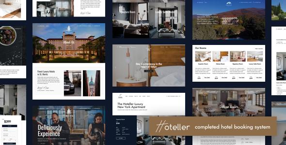 Download Hoteller v4.1 - Hotel Booking WordPress