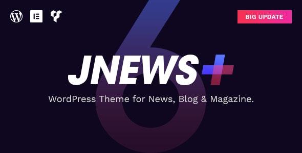 Download JNews v6.0.0 - WordPress Newspaper Magazine Blog AMP