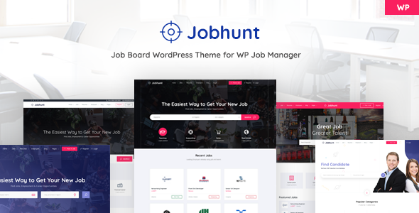 Download Jobhunt v1.2.3 - Job Board theme for WP Job Manager