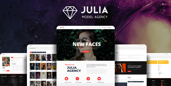 Download Julia v2.0.5 - Talent Management WordPress Theme