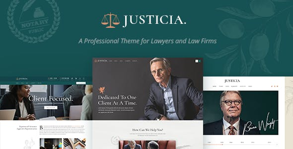 Download Justicia v1.2.0 - Lawyer and Law Firm Theme