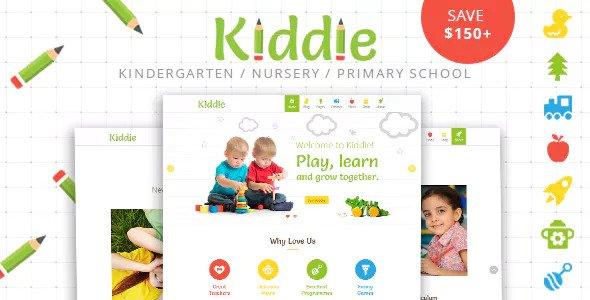 Download Kiddie v4.1.7 - Kindergarten and Preschool WordPress Theme