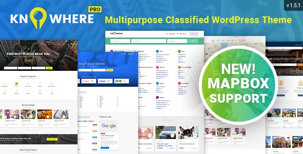 Download Knowhere Pro v1.5.2 - Multipurpose Directory Theme