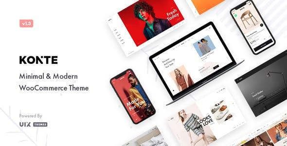 Download Konte v1.6.2 - Minimal & Modern WooCommerce Theme