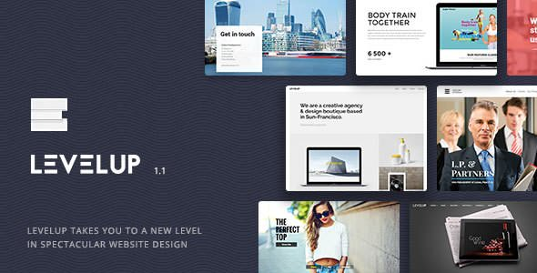 Download LEVELUP v1.1.39 - Responsive Creative Multipurpose Theme