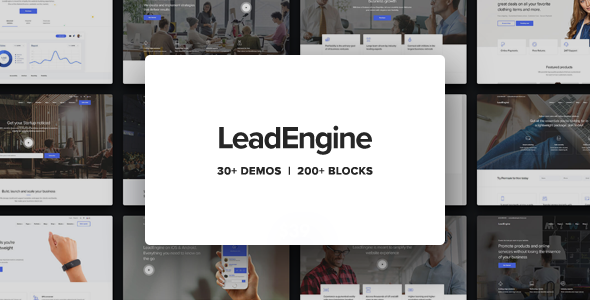 Download LeadEngine v1.9.0 - Multi-Purpose Theme with Page Builder nulled