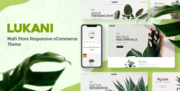 Download Lukani v1.0.4 - Plant Store Theme for WooCommerce WordPress