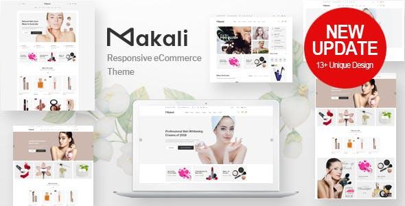 Download Makali v1.3.7 - Cosmetics & Beauty Theme