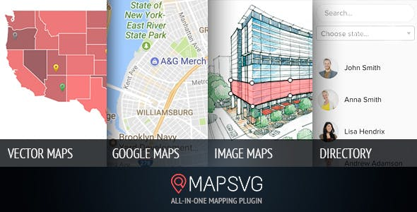 MapSVG v5.13.3 - the last WordPress map plugin you