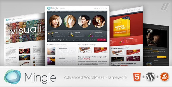 Download Mingle v1.8.6 - Multi-purpose WordPress Theme