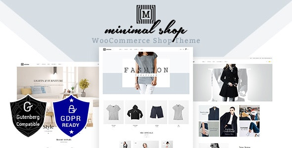 Download Minimal Shop v1.9 - WooCommerce Theme