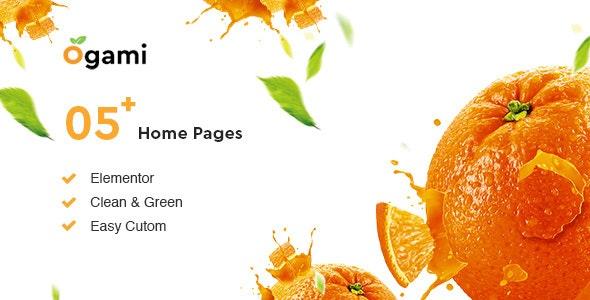 Download Ogami v1.15 - Organic Store & Bakery WordPress Theme