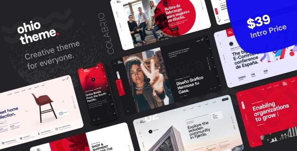 Download Ohio v1.0.2 - Creative Portfolio & Agency WordPress Theme