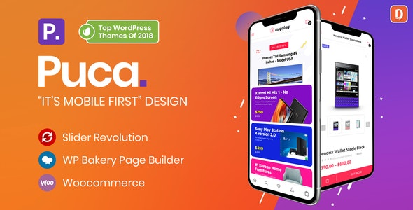 Download Puca v1.5.8 - Optimized Mobile WooCommerce Theme